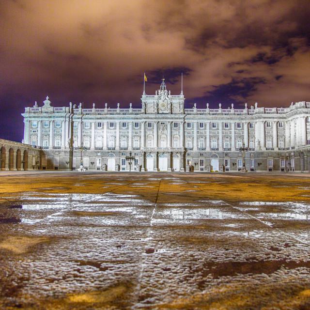 """""""Palacio Real"""" stock image"""