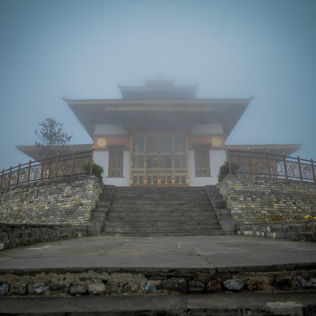 """Royal Monastery Bhutan"" stock image"