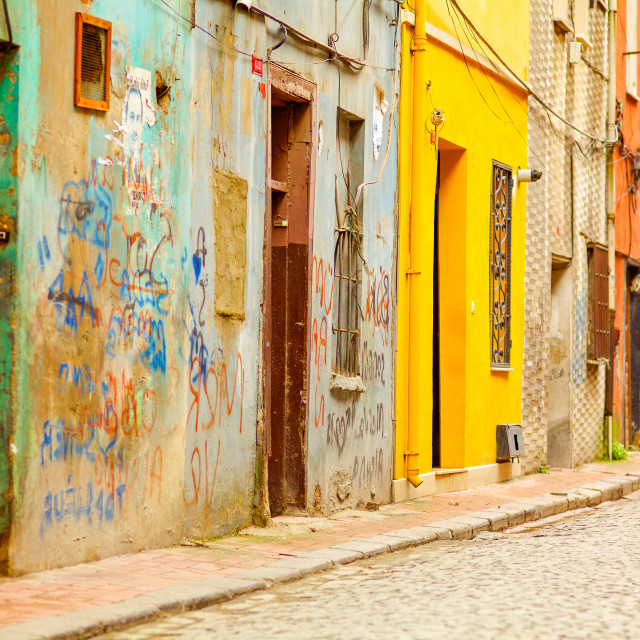 """""""Istanbul Color"""" stock image"""