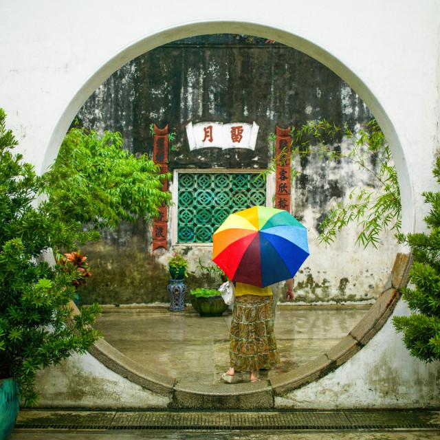 """Mandarin's House Macau"" stock image"