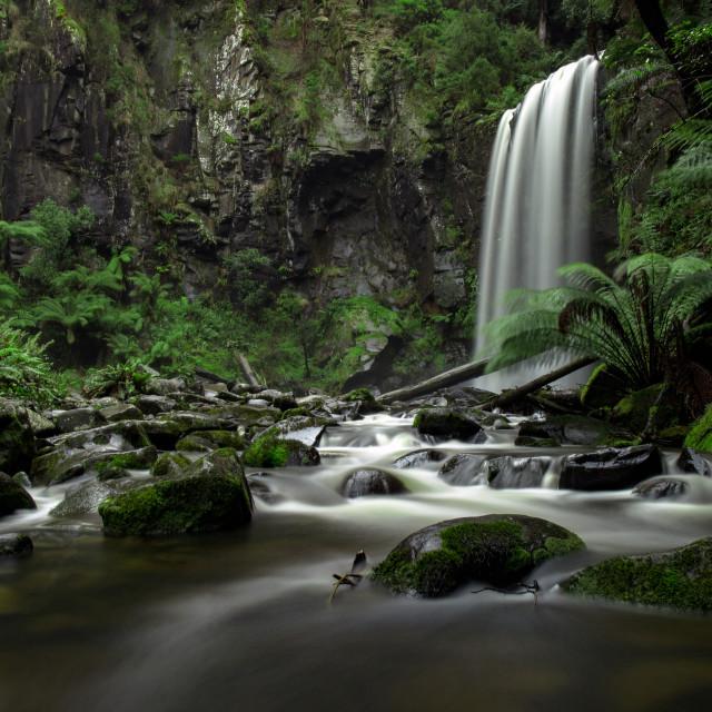 """""""Hopetoun Falls"""" stock image"""