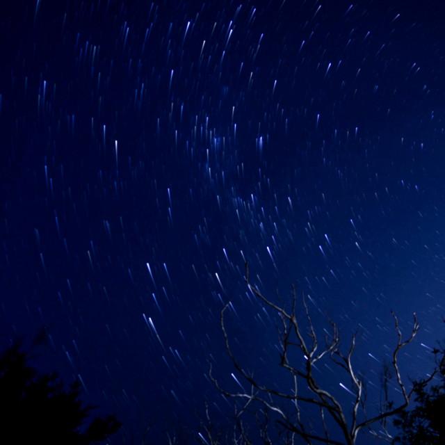 """Stars Under Arabanoo"" stock image"
