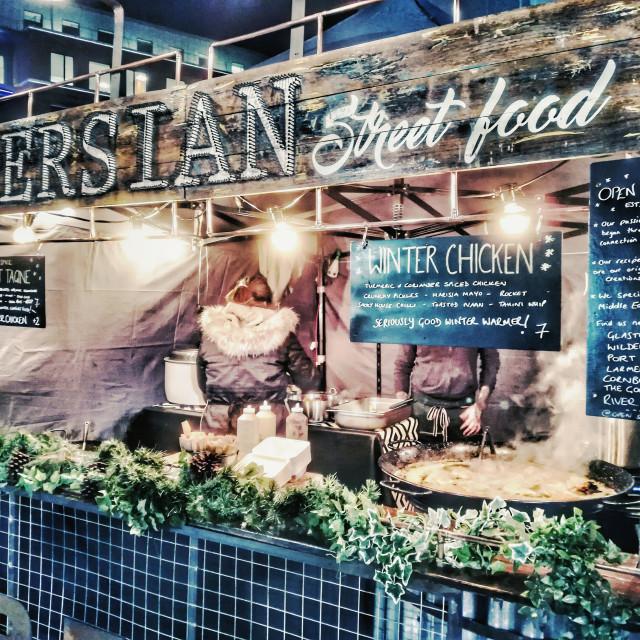 """Persian street food"" stock image"
