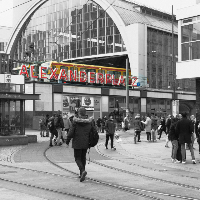 """Berlin Alexanderplatz"" stock image"