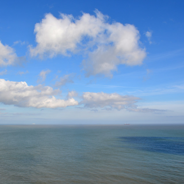 """Seascape Over The Bay"" stock image"