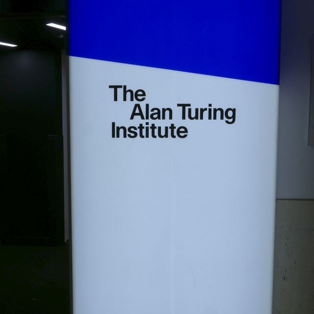 """""""The Alan Turing Institute"""" stock image"""