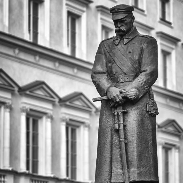 """Pilsudski monument"" stock image"