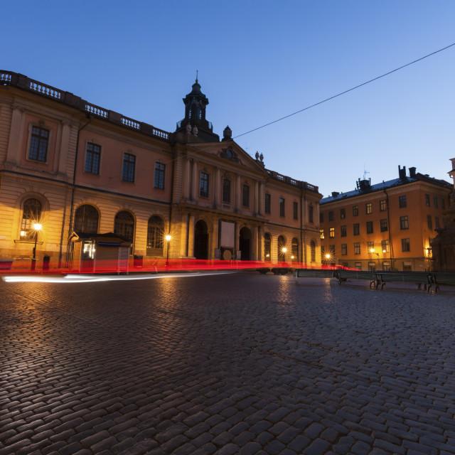 """""""Main Square in Stockholm"""" stock image"""