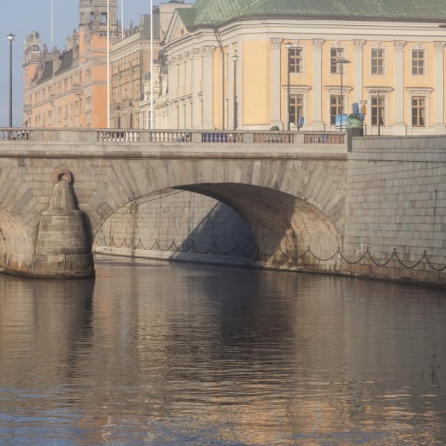 """Panorama of Stockholm"" stock image"