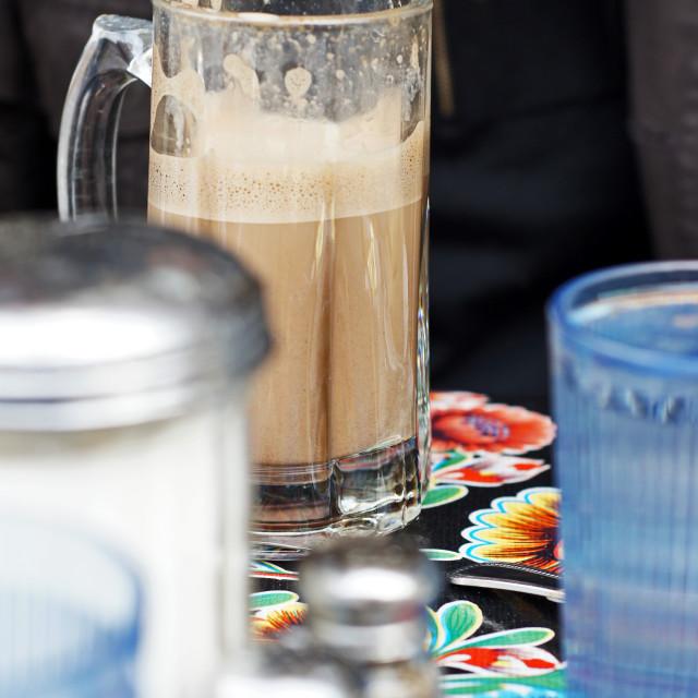 """Hot Chocolate"" stock image"