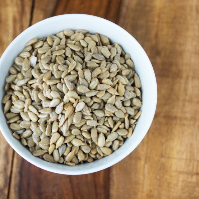 """Sunflower SeedsJamaican Habanero"" stock image"