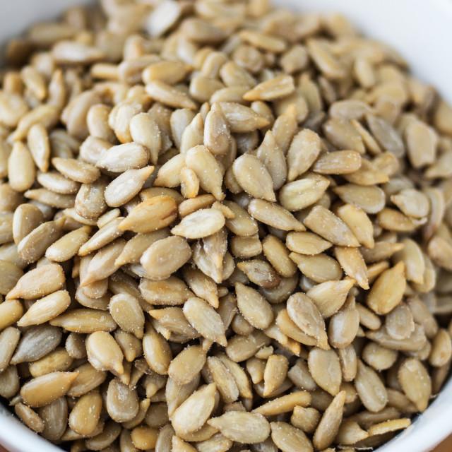 """Sunflower Seeds"" stock image"