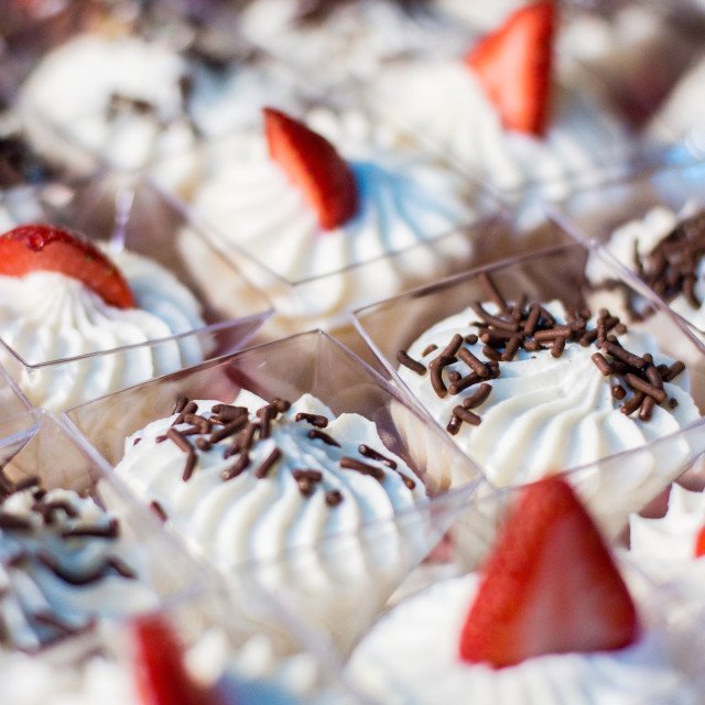 """Desserts"" stock image"