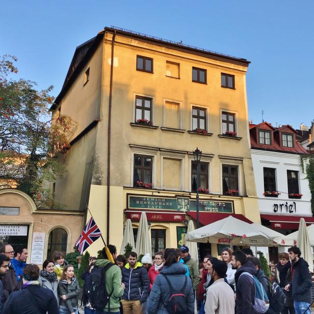 """""""Kraków: Kazimierz walking tour"""" stock image"""