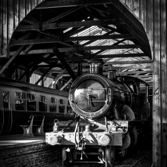 """GWR 2-6-0 No.5322"" stock image"