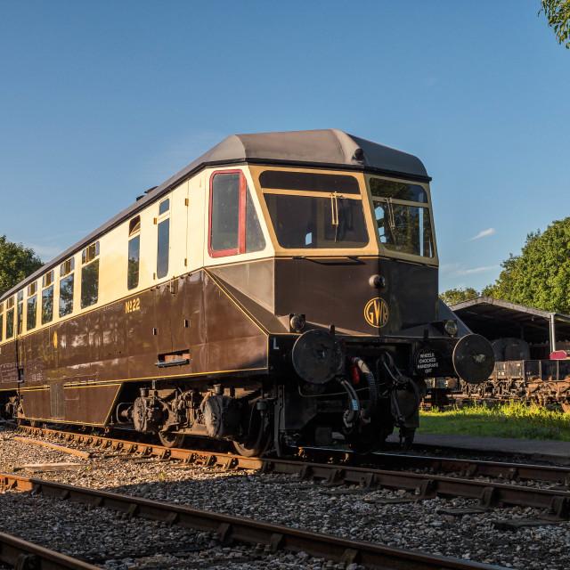 """GWR Railcar"" stock image"