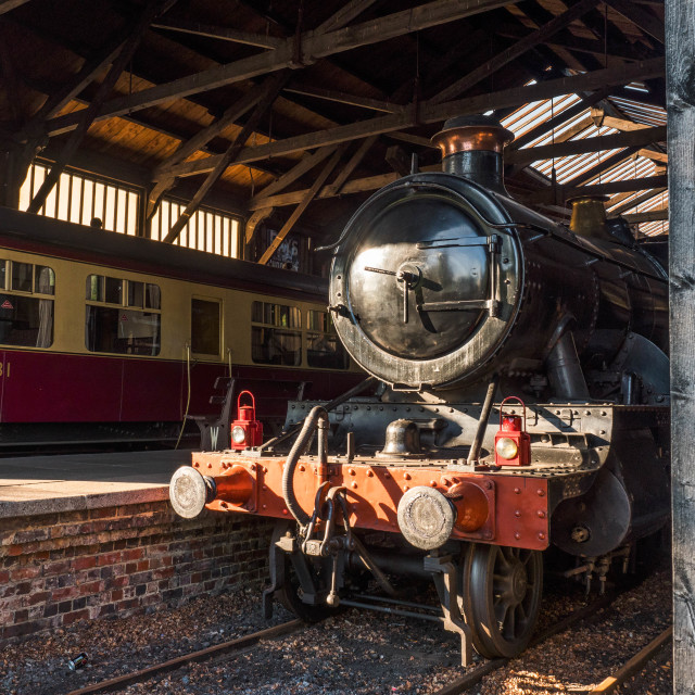 """GWR 2-6-0 5322"" stock image"
