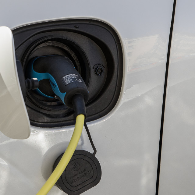 """Electric charging"" stock image"