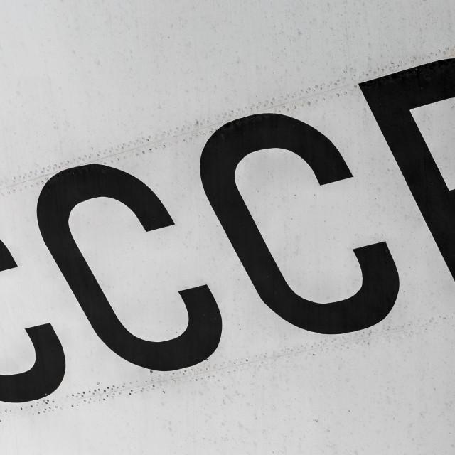 """CCCP"" stock image"