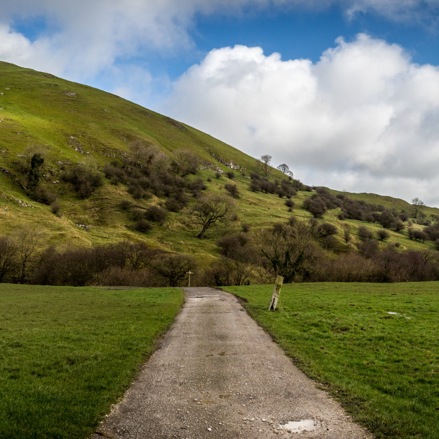 """""""Chrome and Parkhouse Hill Pano"""" stock image"""