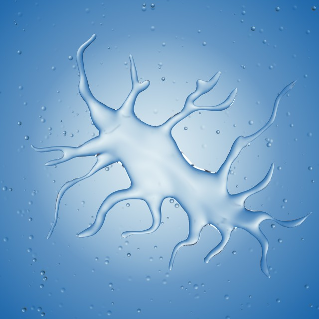 """Illustration of a dendritic cell"" stock image"