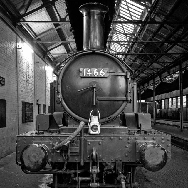 """GWR No.1466"" stock image"