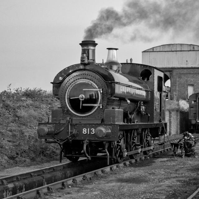 """GWR 813"" stock image"