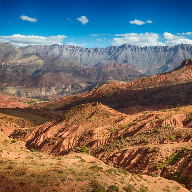 """High Atlas Mountains"" stock image"