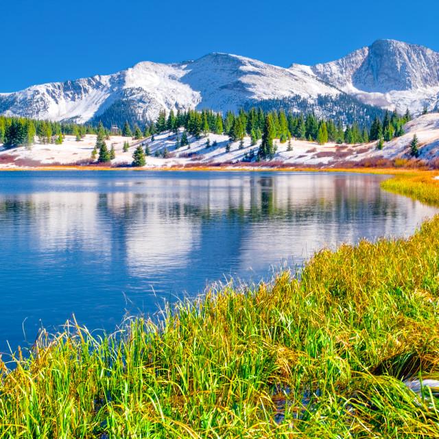 """Molas Lake"" stock image"