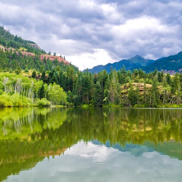 """Lake Lenore"" stock image"