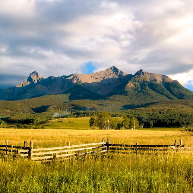"""Southwest Colorado"" stock image"