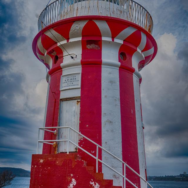 """Lollipop Lighthouse"" stock image"