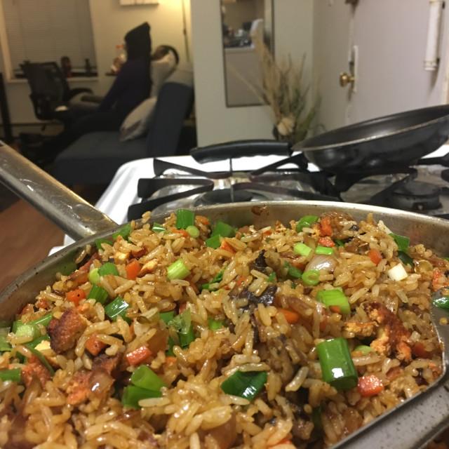 """Fried Rice"" stock image"