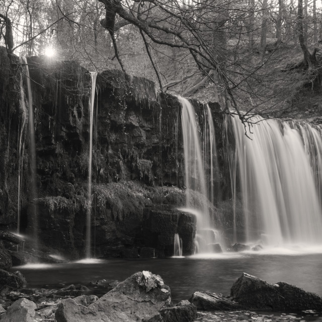 """Brecon Waterfalls"" stock image"