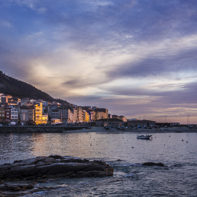 """A Guarda, Galicia"" stock image"