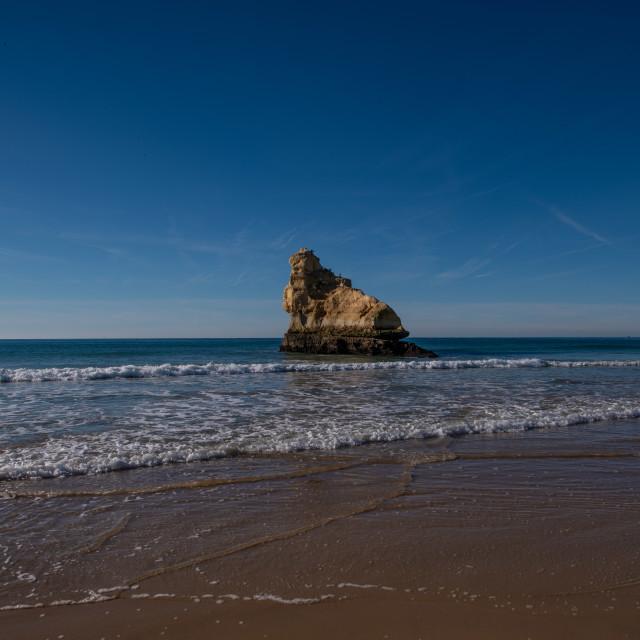 """Praia Da Rocha Beach"" stock image"