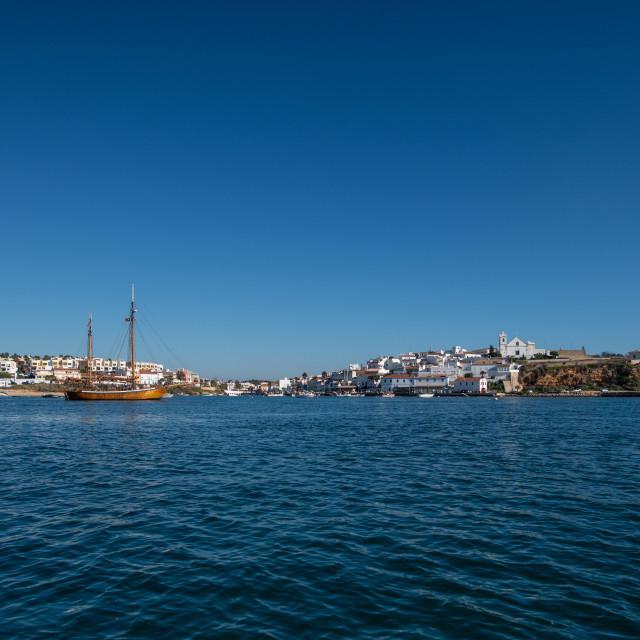 """""""Portimao Coast Line"""" stock image"""