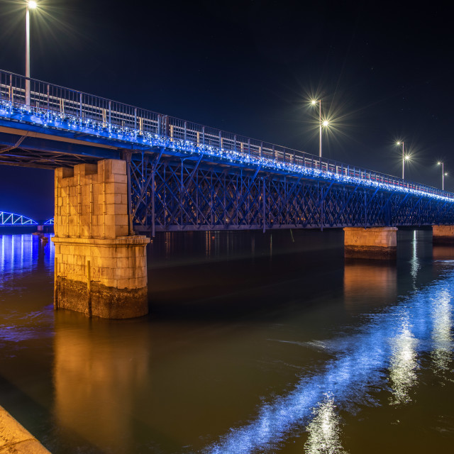 """Pont Vehla Bridge Portimao"" stock image"