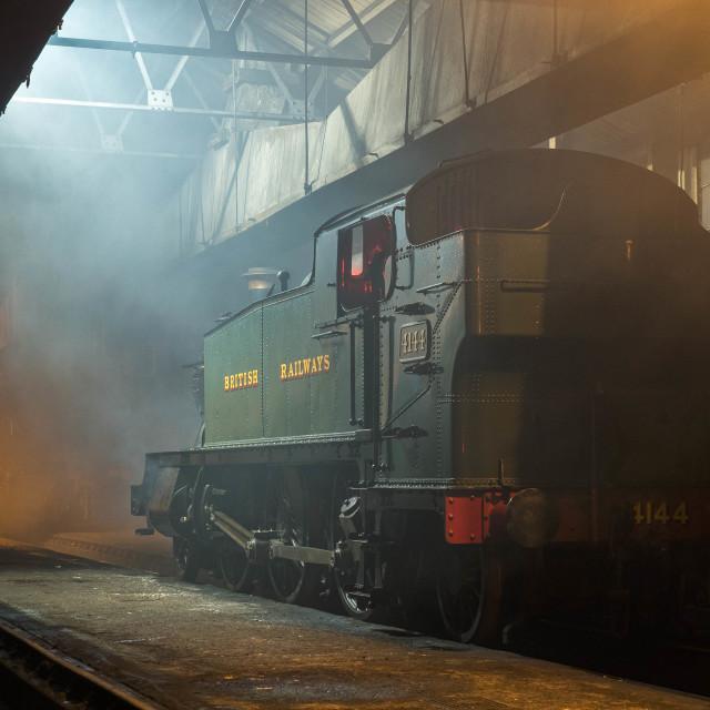 """GWR No.4144"" stock image"