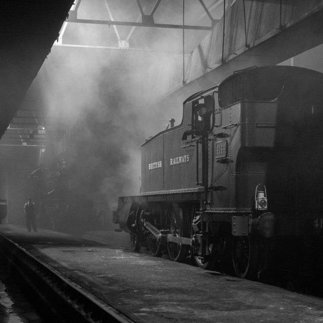 """""""GWR Engine Shed"""" stock image"""
