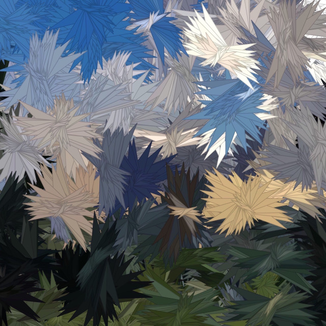 """""""Abstract floral anime theme background"""" stock image"""