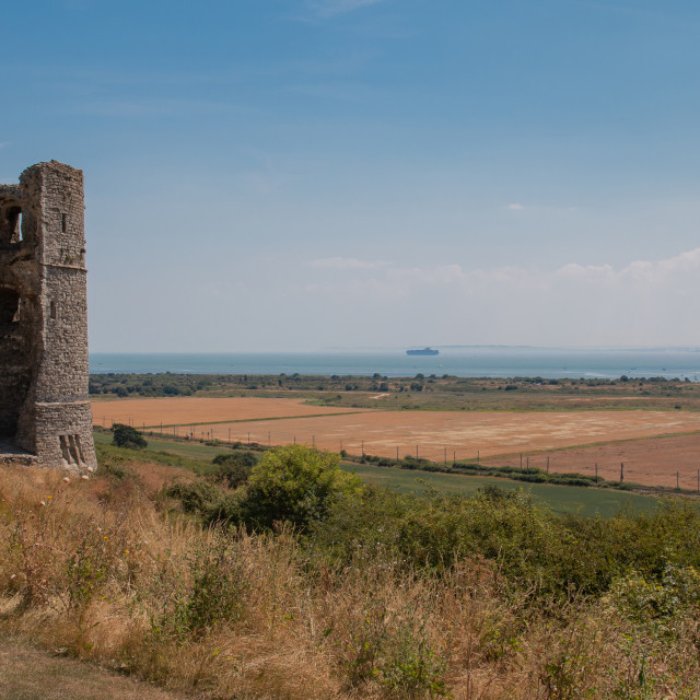 """Hadleigh Castle"" stock image"