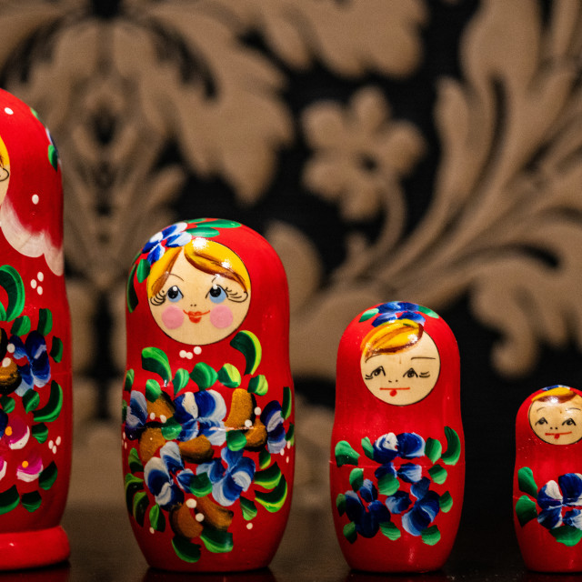 """Russian Family"" stock image"