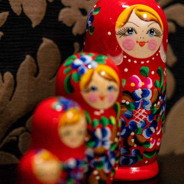 """Russian Mother"" stock image"