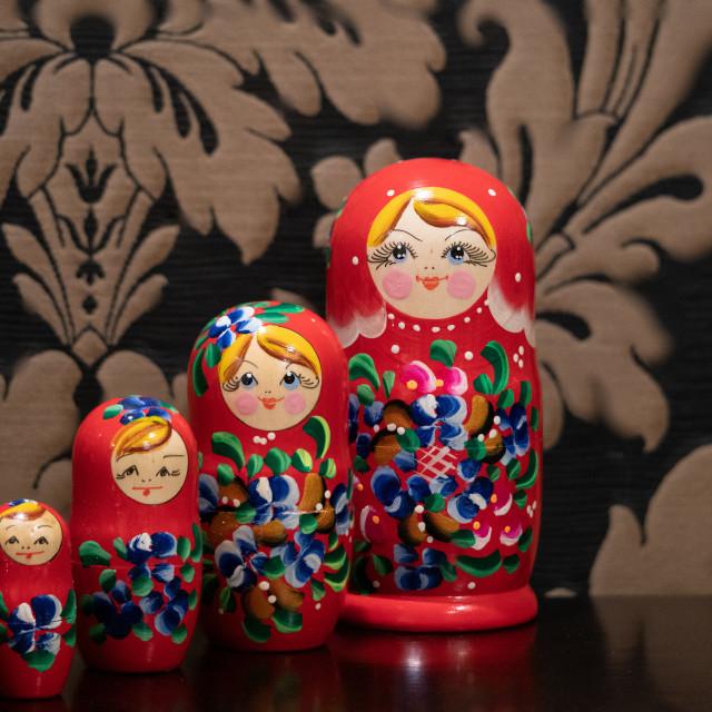 """Babushka!"" stock image"