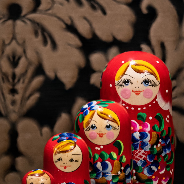"""Babushka Family Portrait"" stock image"