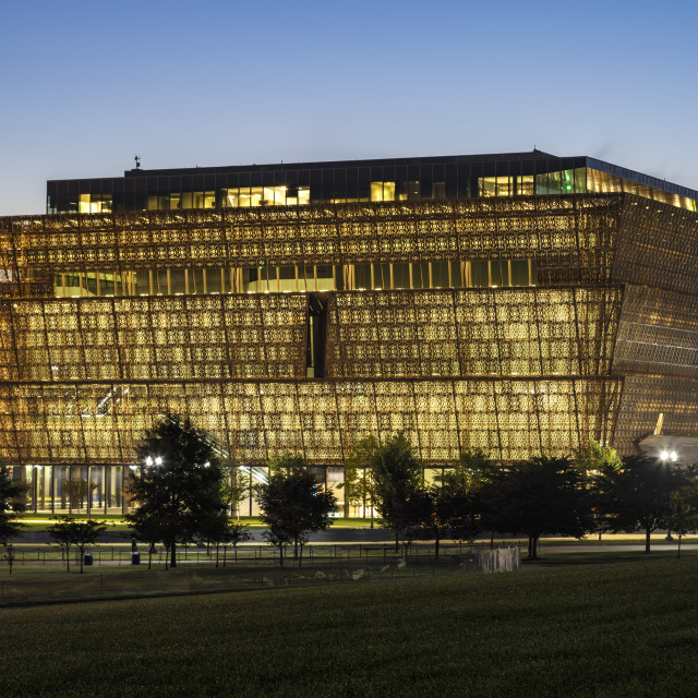 """""""Smithsonian National Museum of African American History and Culture, Washington, District of Columbia USA"""" stock image"""
