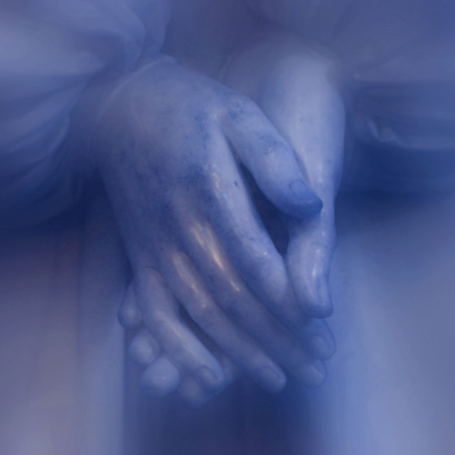 """""""Angel Hands Dirty Soft"""" stock image"""