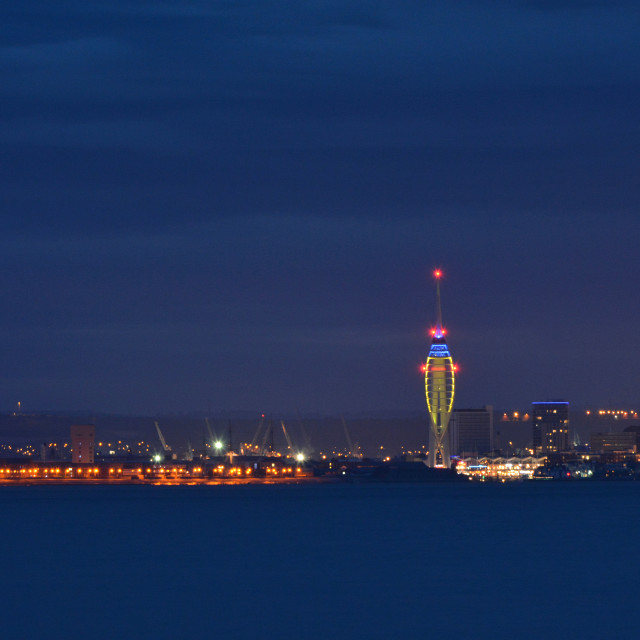 """Spinnaker Tower at Portsmouth"" stock image"