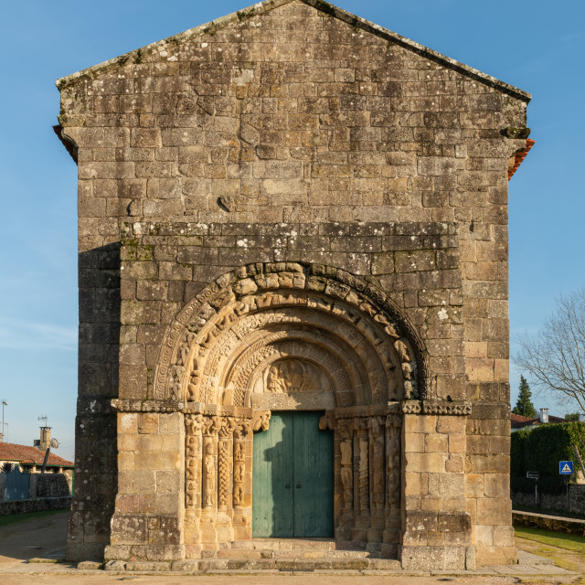 """Church of Bravaes"" stock image"
